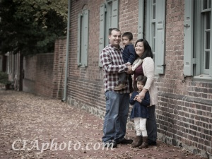 Then & Now : A Family Portrait Session
